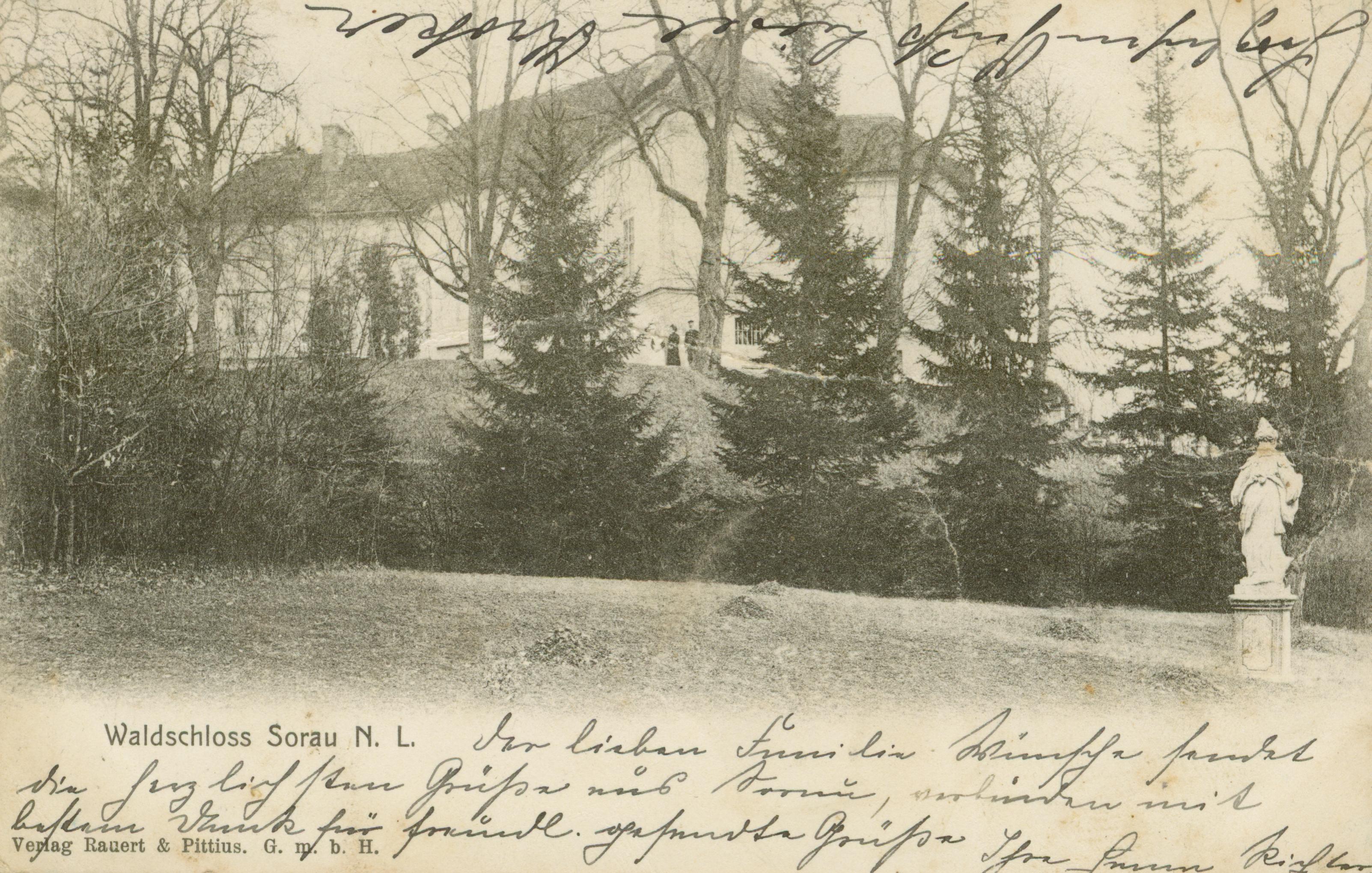 Żary - pałac leśny