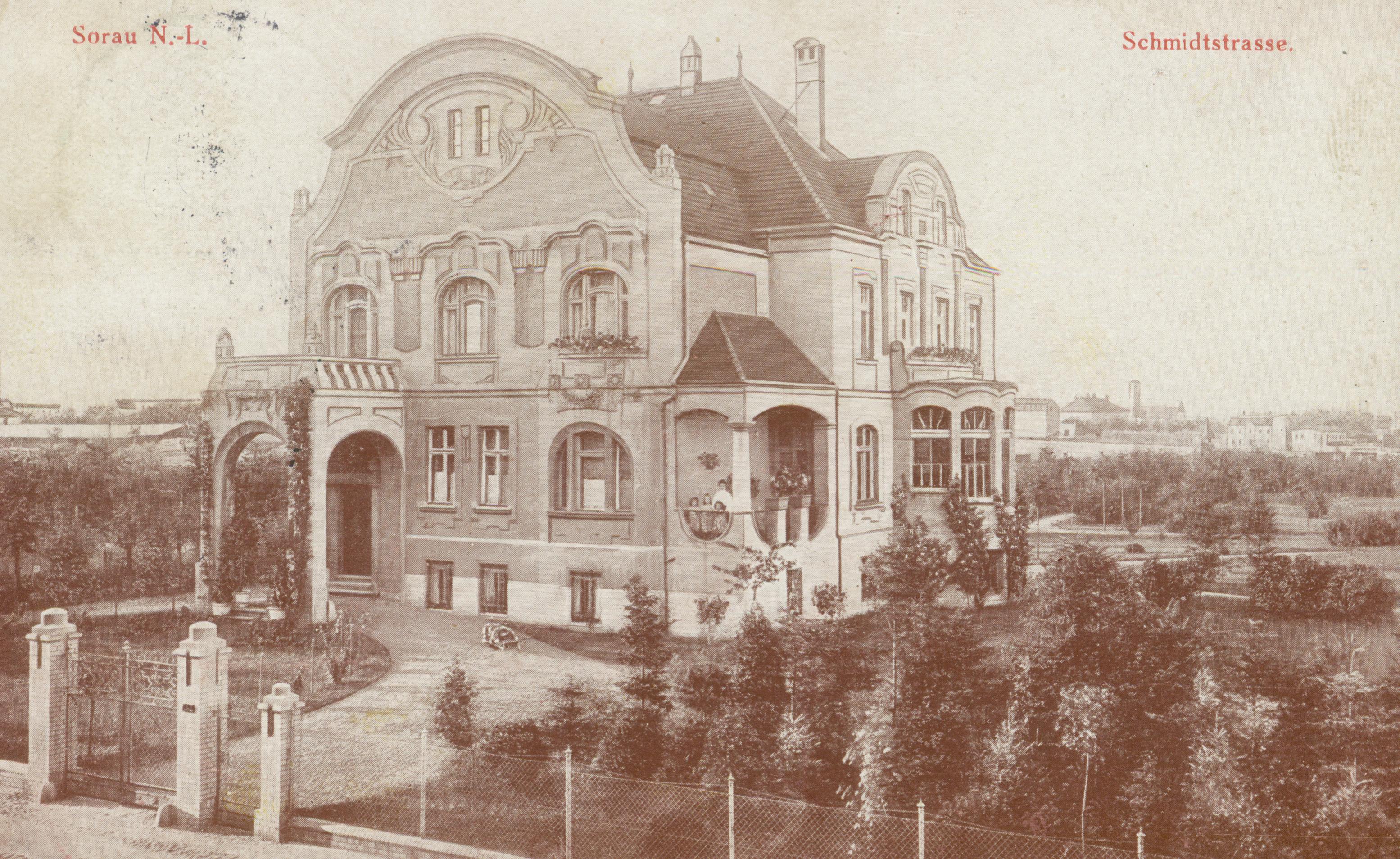 Żary- willa przy Schmidtstrasse