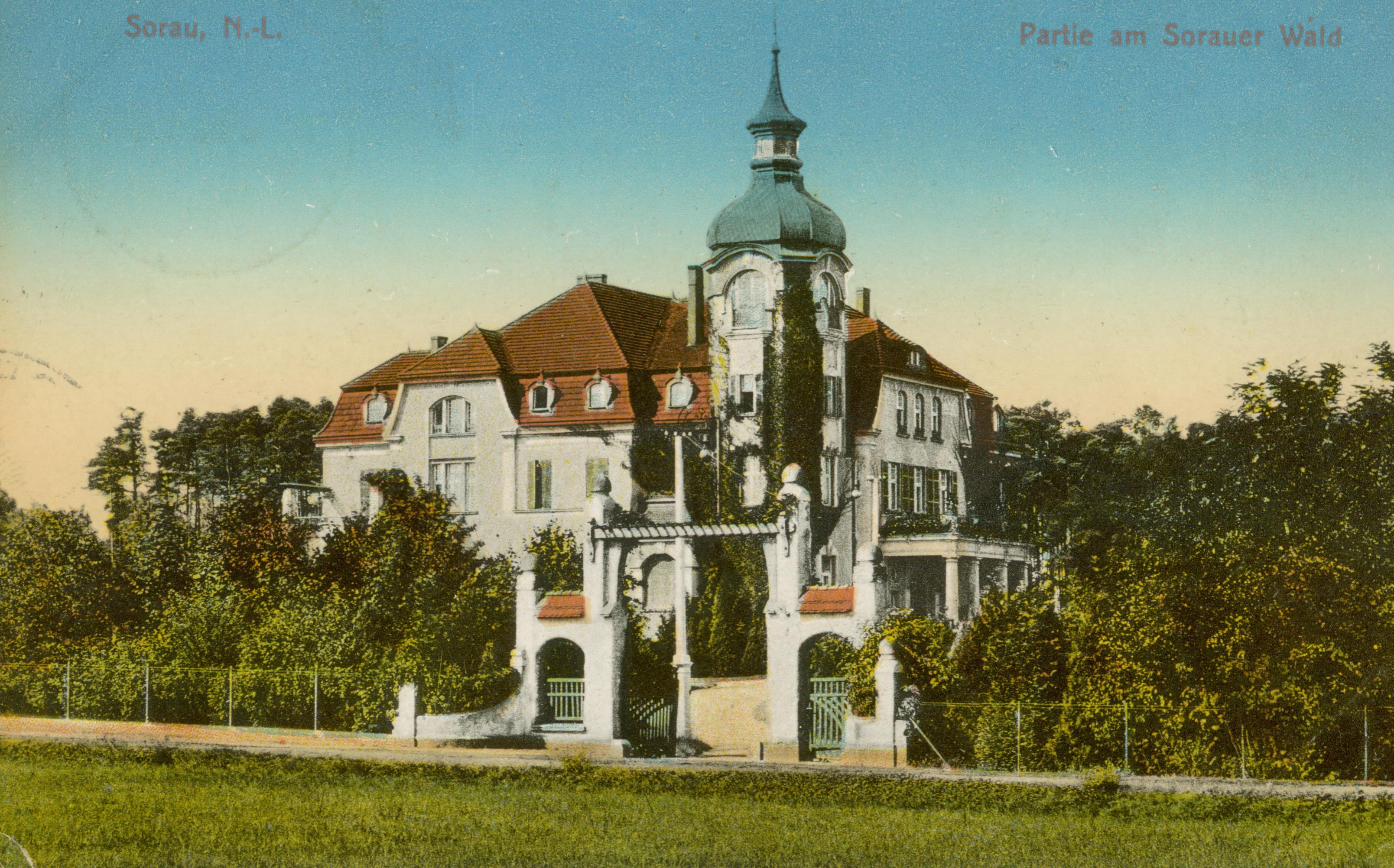 Żary- willa