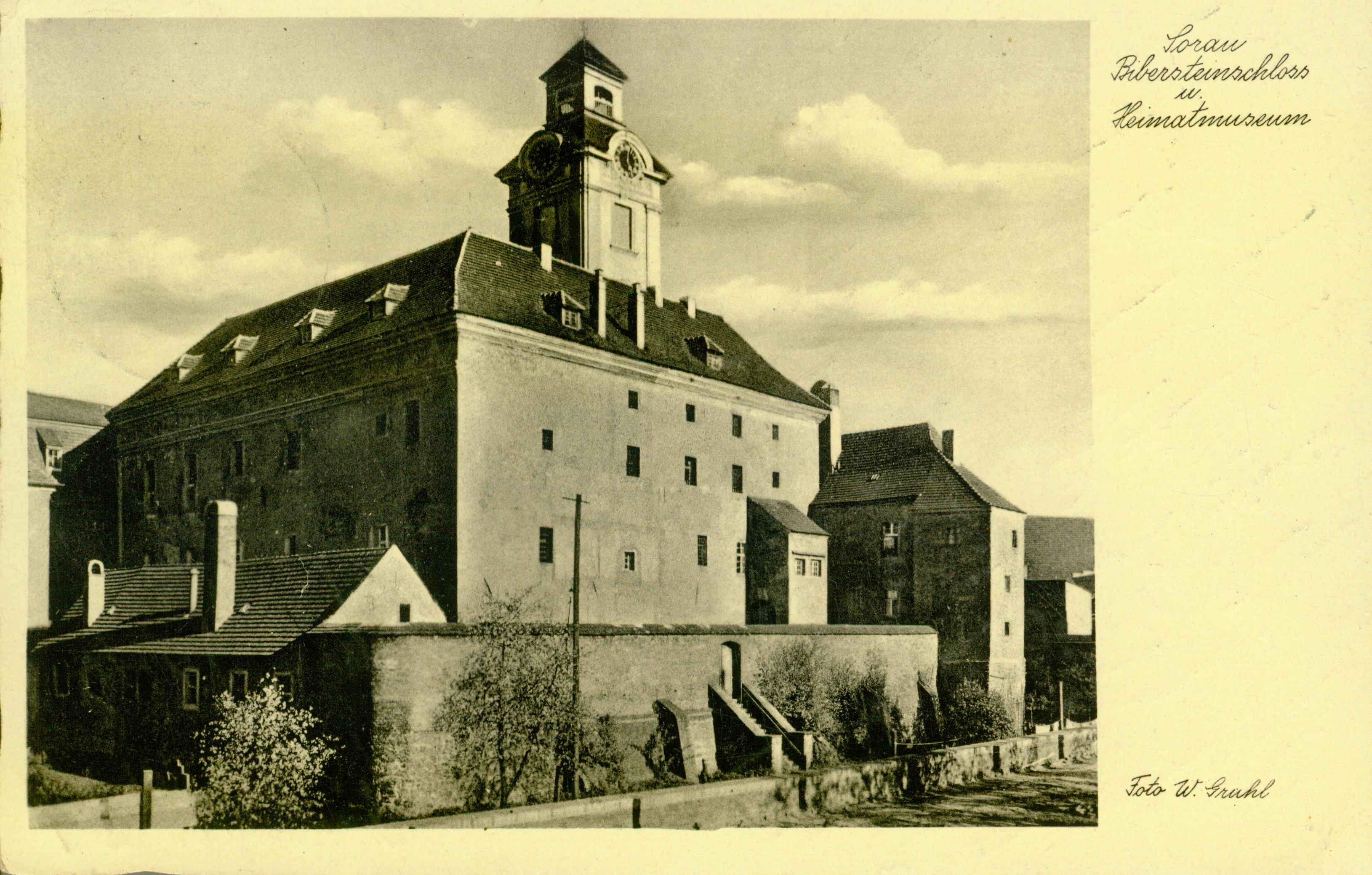 Żary-zamek Bibersteinów, lubuskie