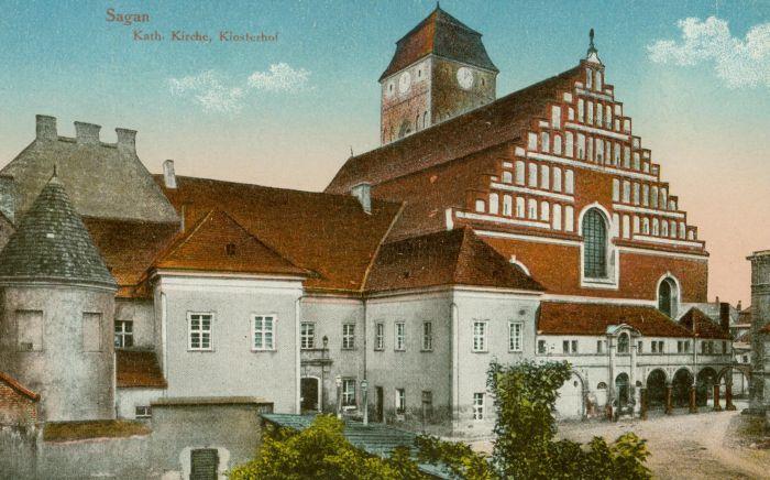 Zagan-kosciol katolicki, byly klasztor augustianow