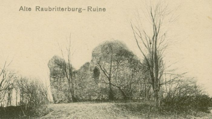 Zarki Wielkie- ruiny zamku