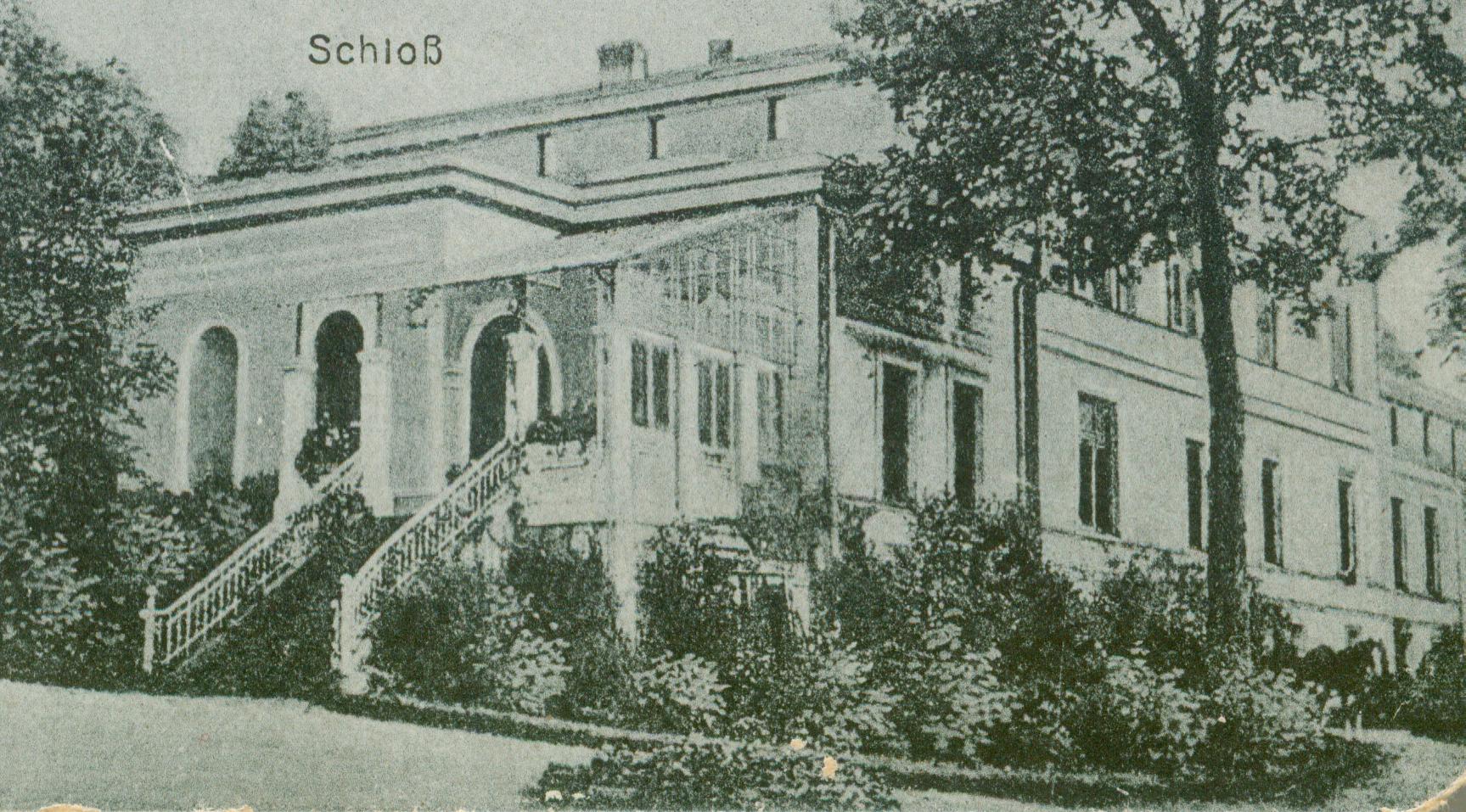 Brzezina-pałac