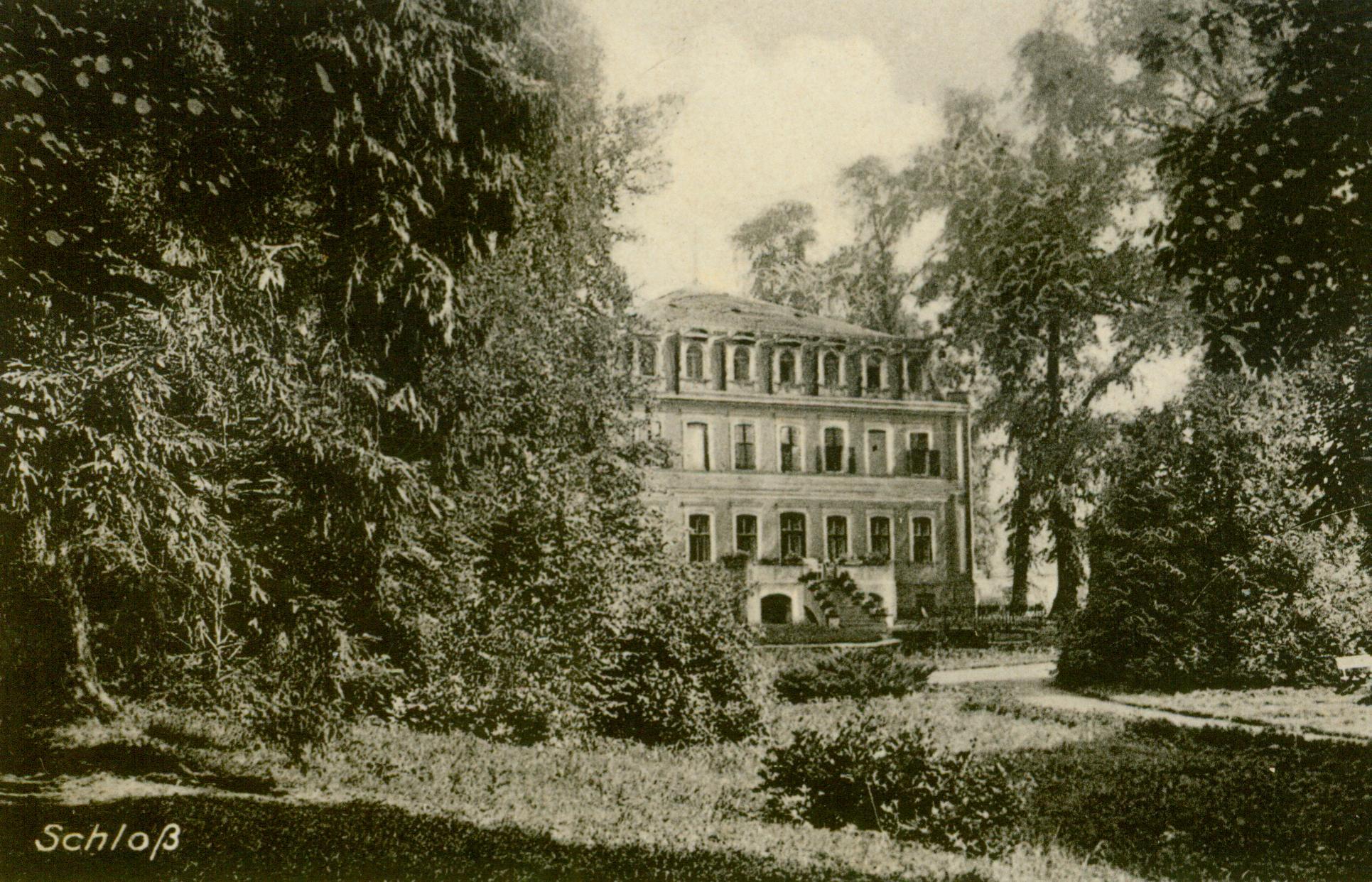 Mechowo Pyrzyckie-pałac
