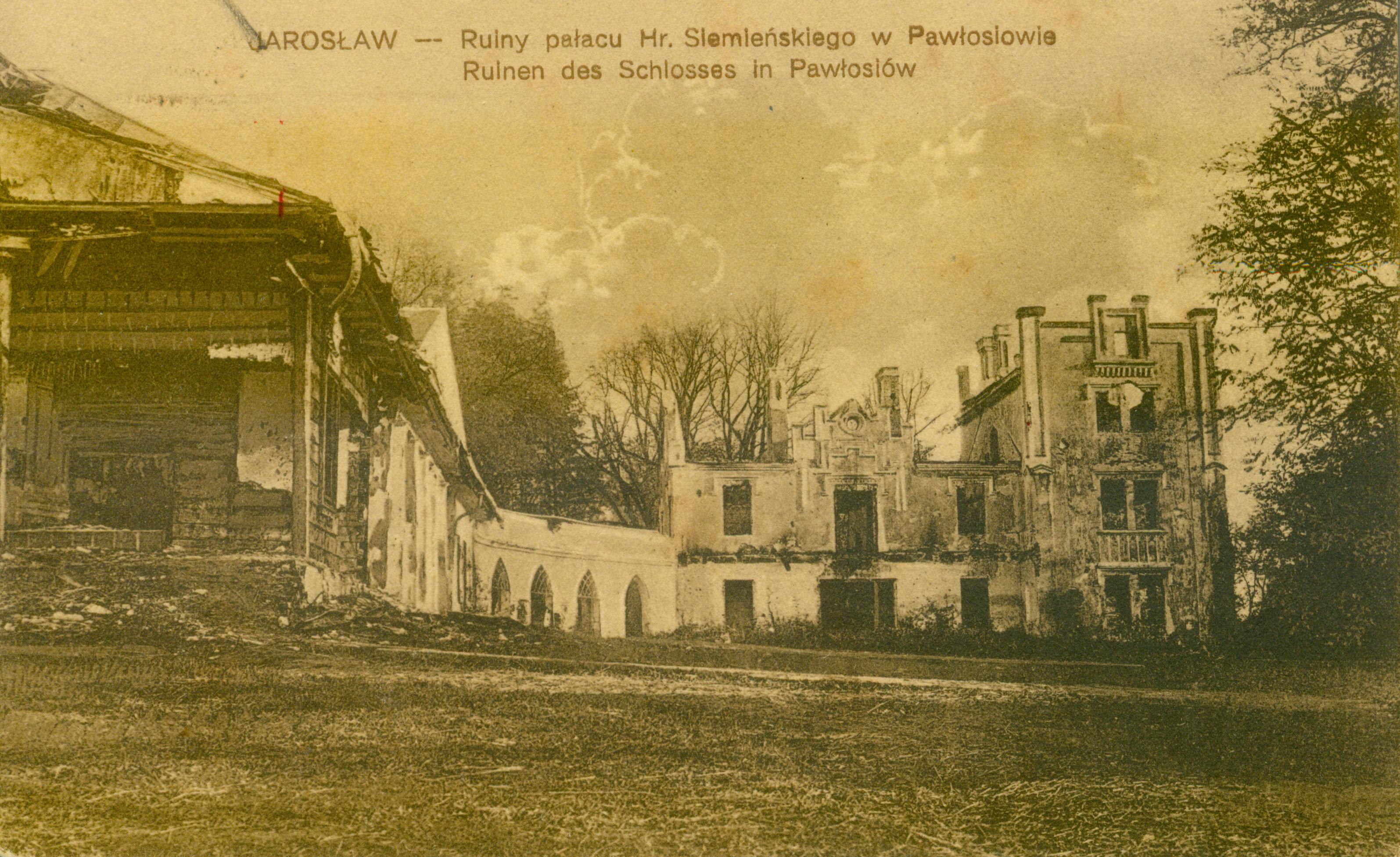 Pawłosiów pow. Jarosław, podkarpackie
