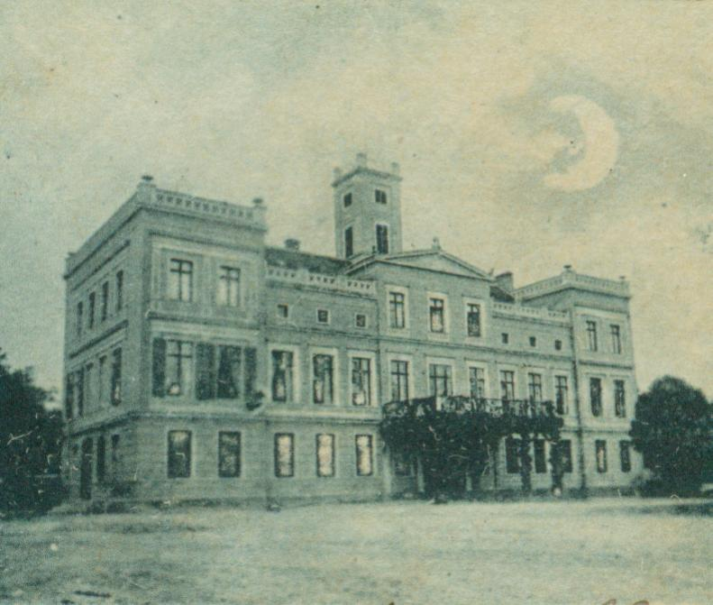 Warnice pałac