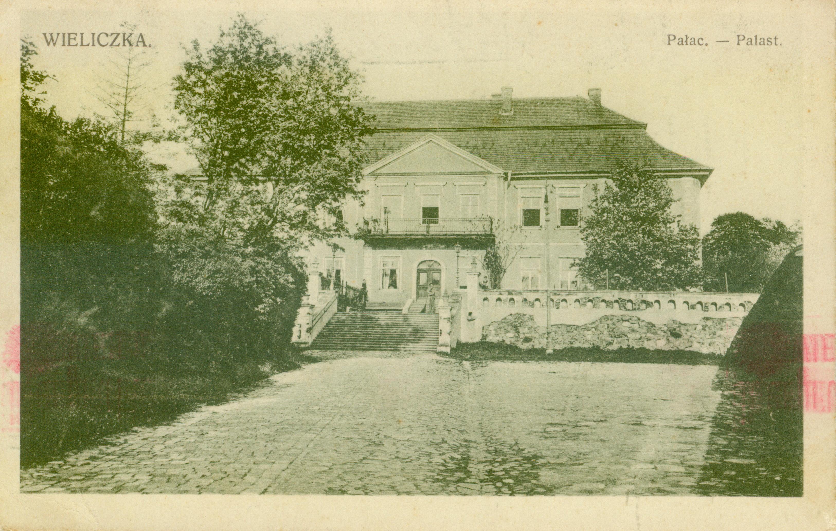 Wieliczka-pałac, małopolska