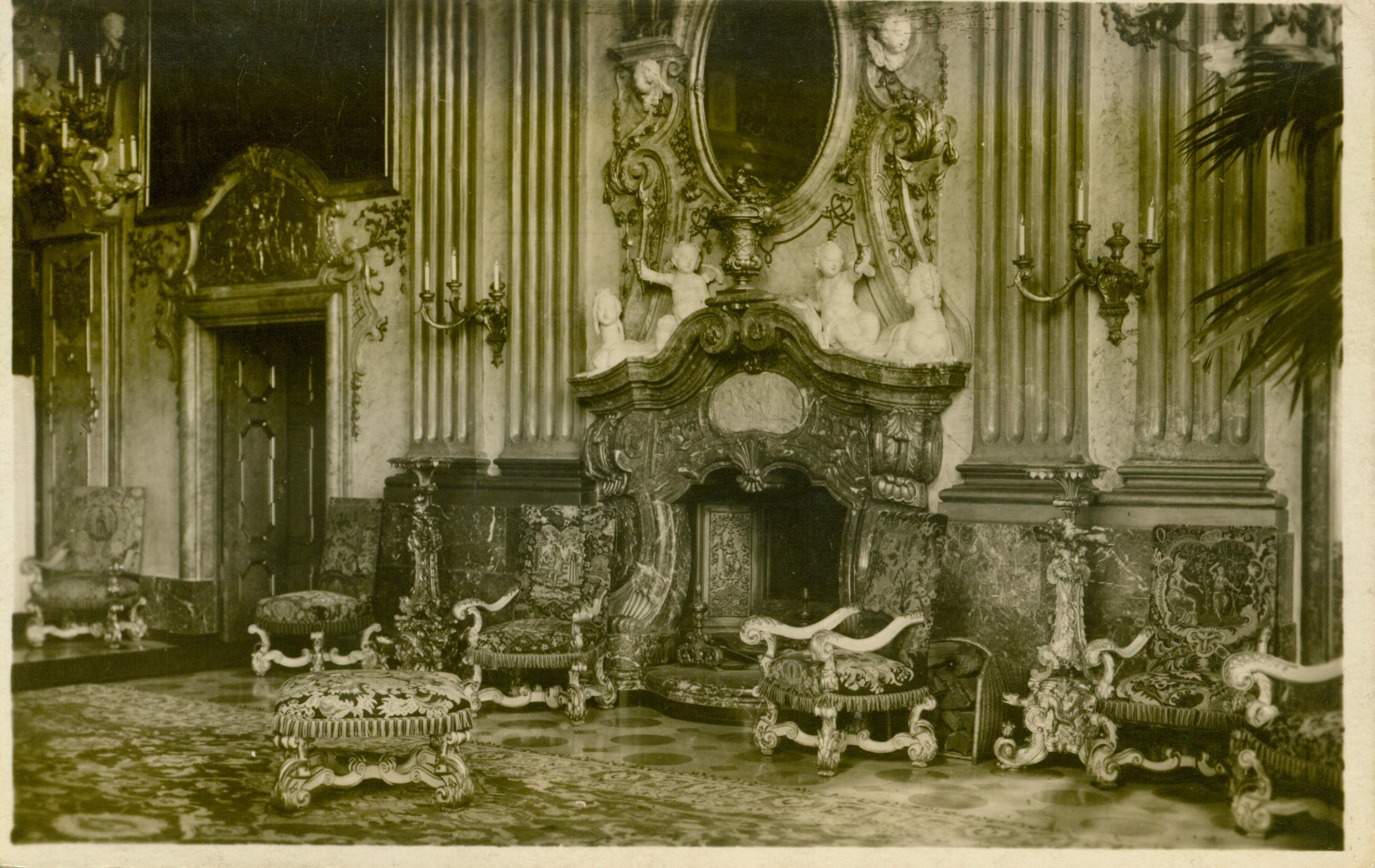 Książ- sala Maximiliana, dolnośląskie