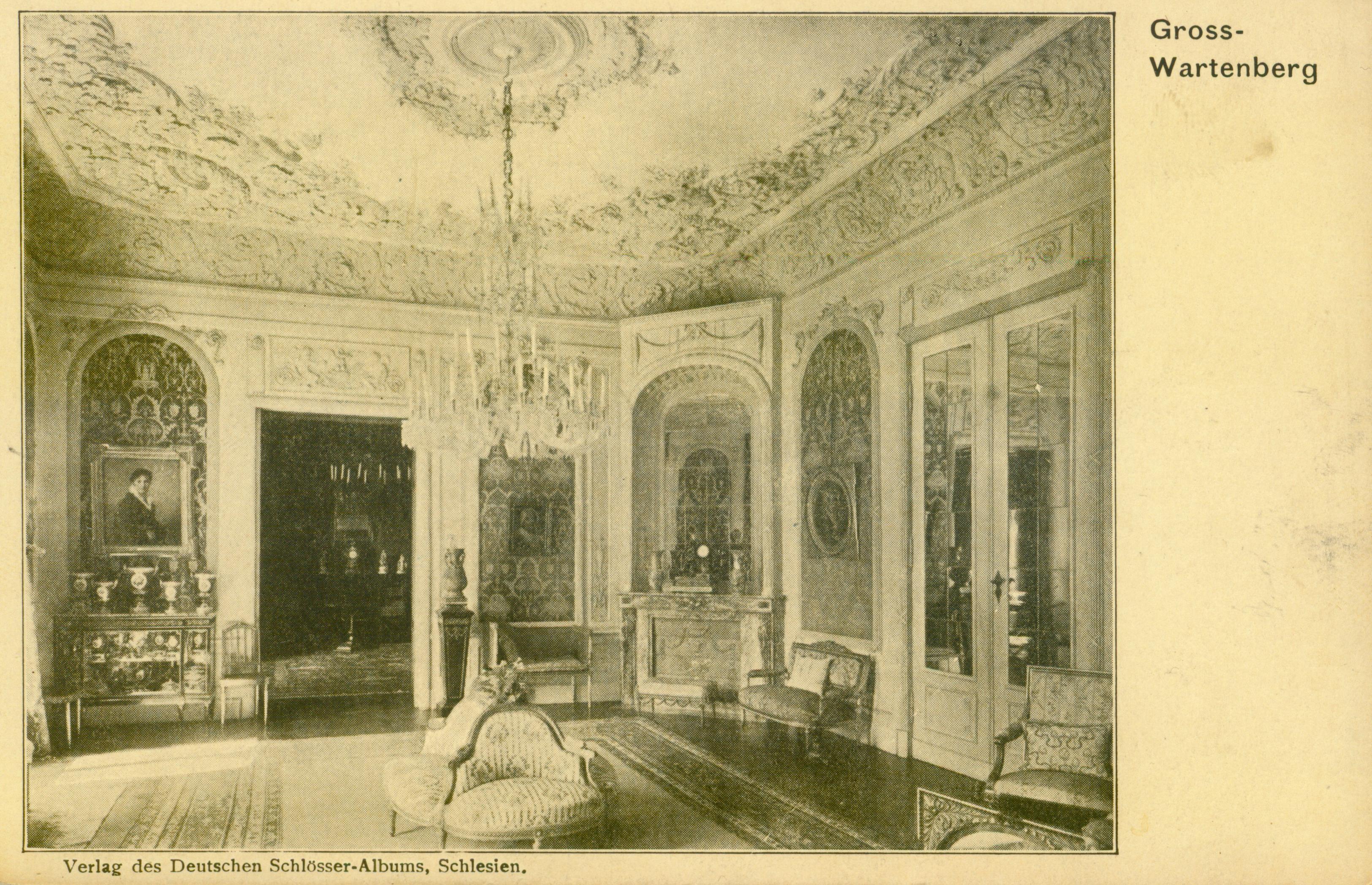 Syców- sala w nieistniejącym pałacu, dolnośląskie