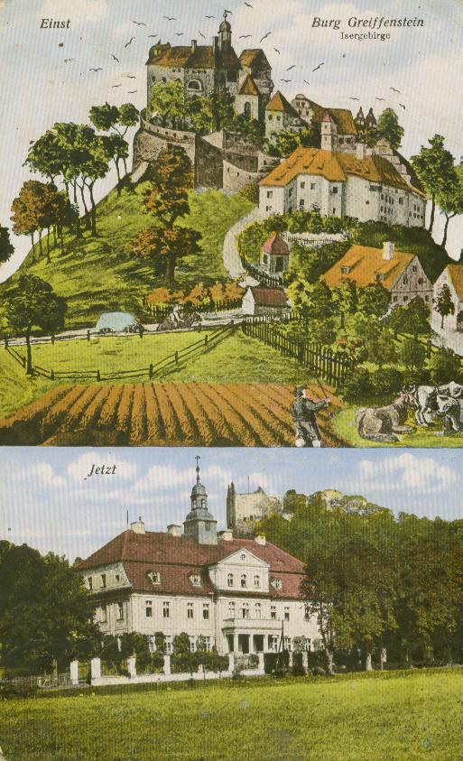 Gryfów Śląski dawniej i teraz