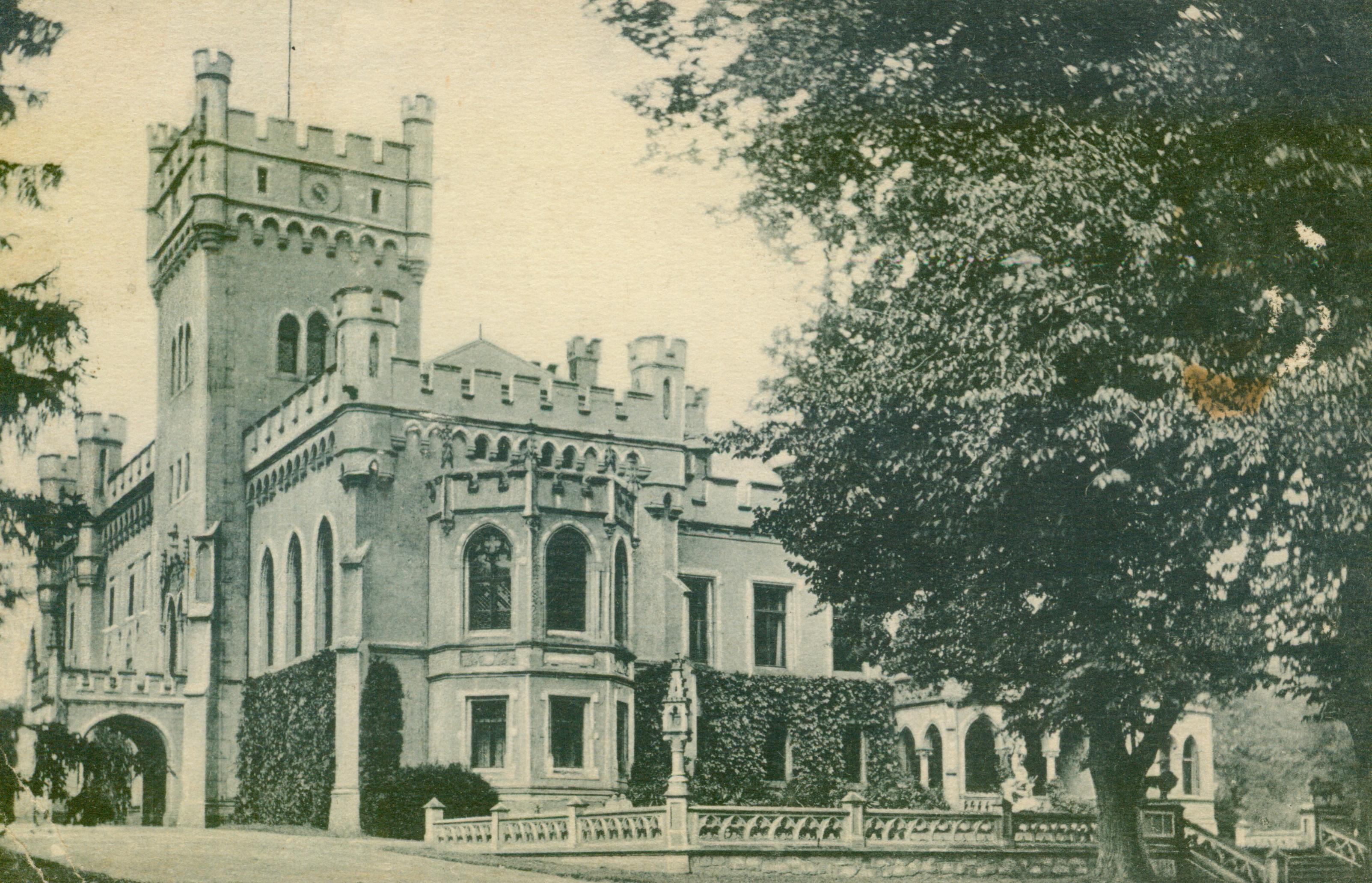 Jędrzejów k.Grodkowa, dolnosląskie, pałac v.Franken-Sierstorpff
