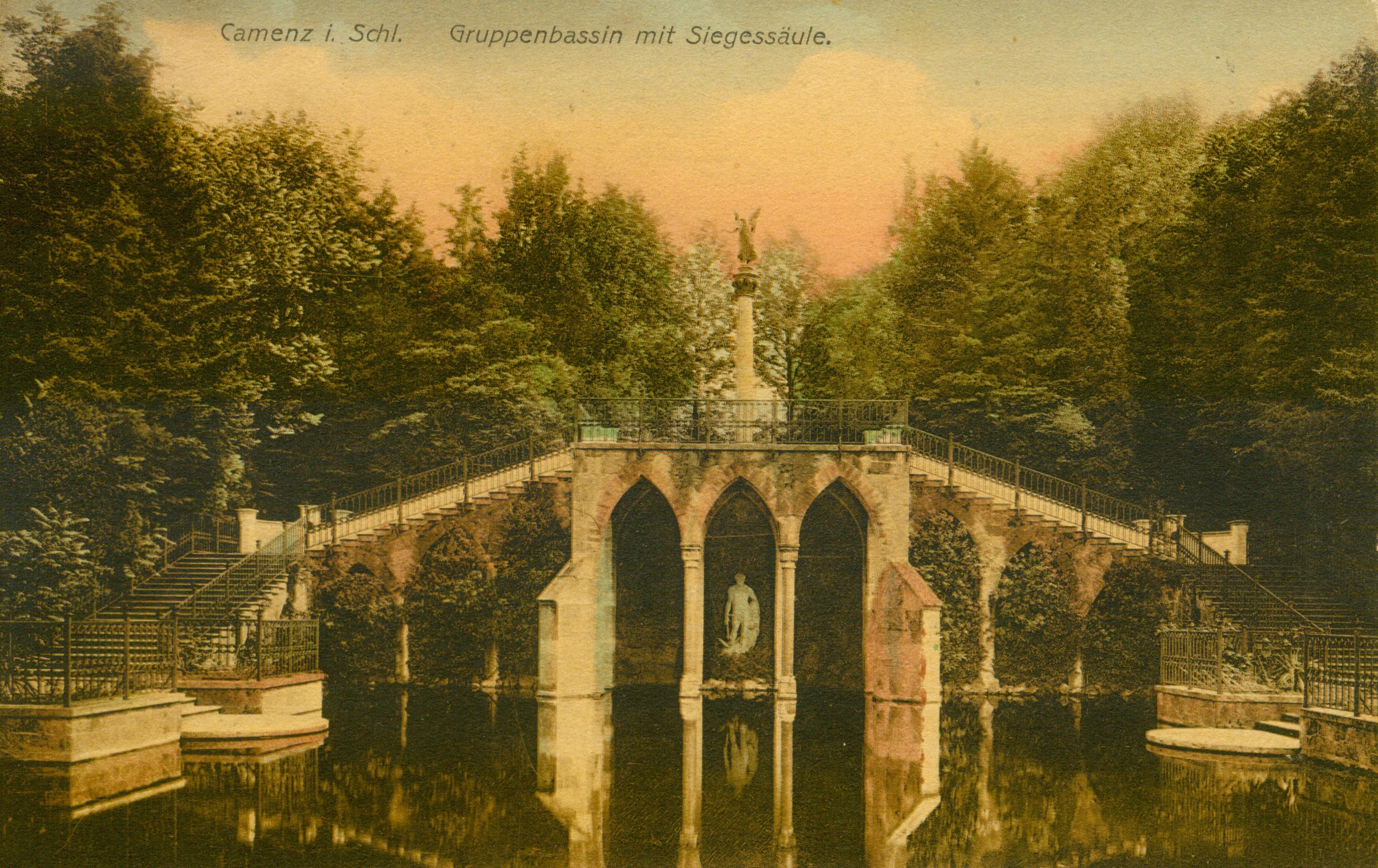 Kamieniec Ząbkowicki- założenie parkowe