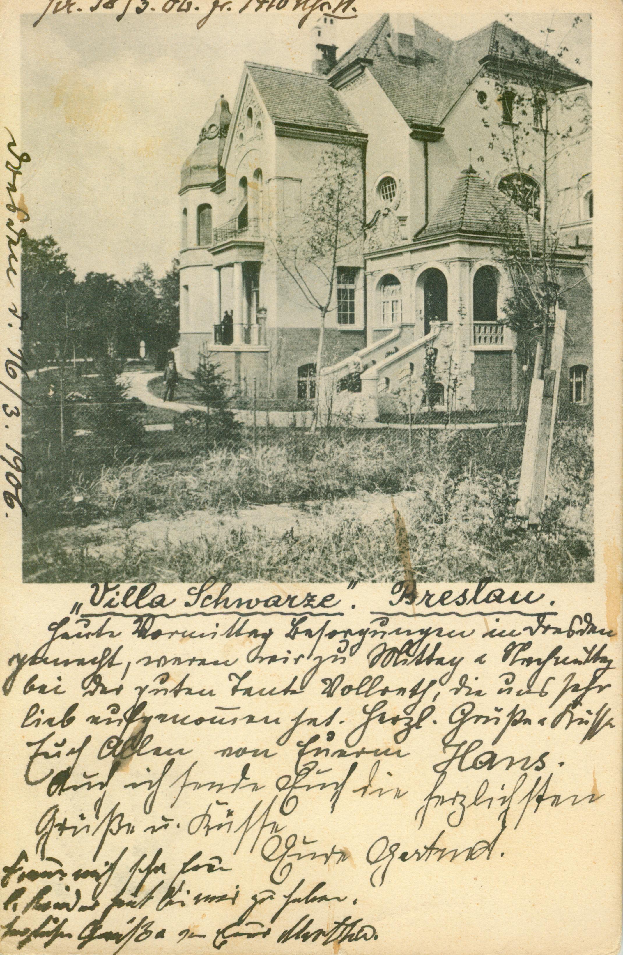 Wrocław- willa Schwarze