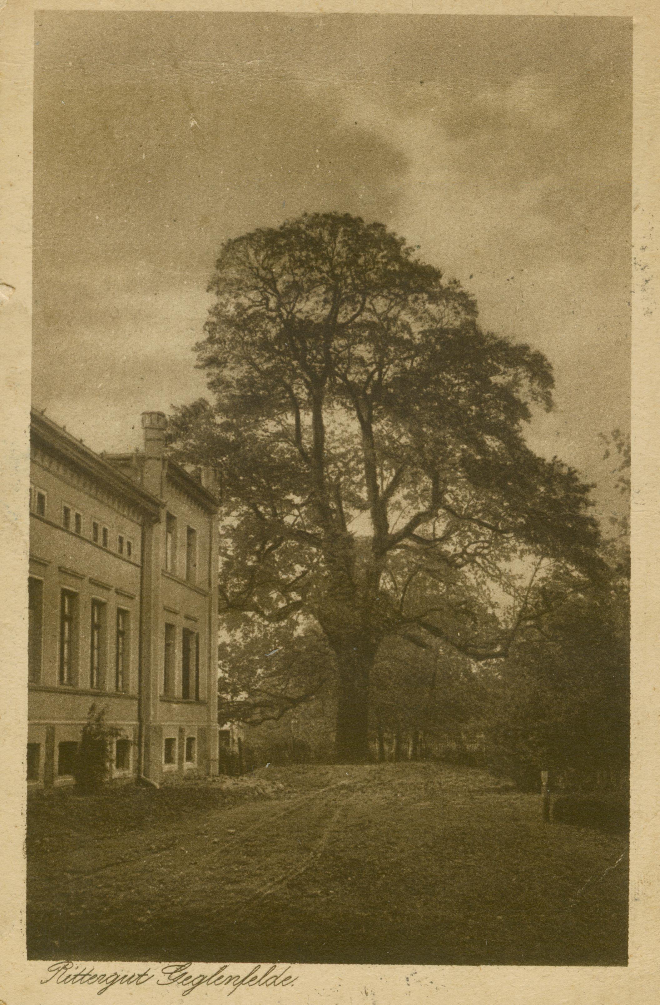 Wyczechy- pałac, poczta Łoża, gm. Człuchów