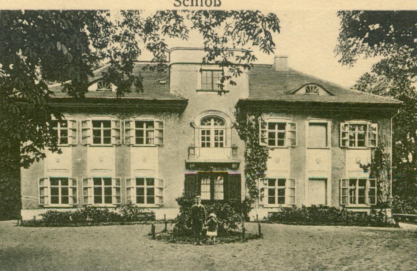 Chełmek Wołowski-pałac