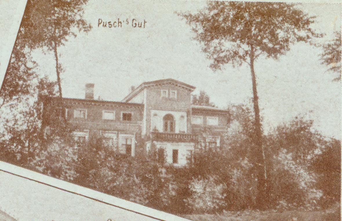 Grabik- dwór Puscha