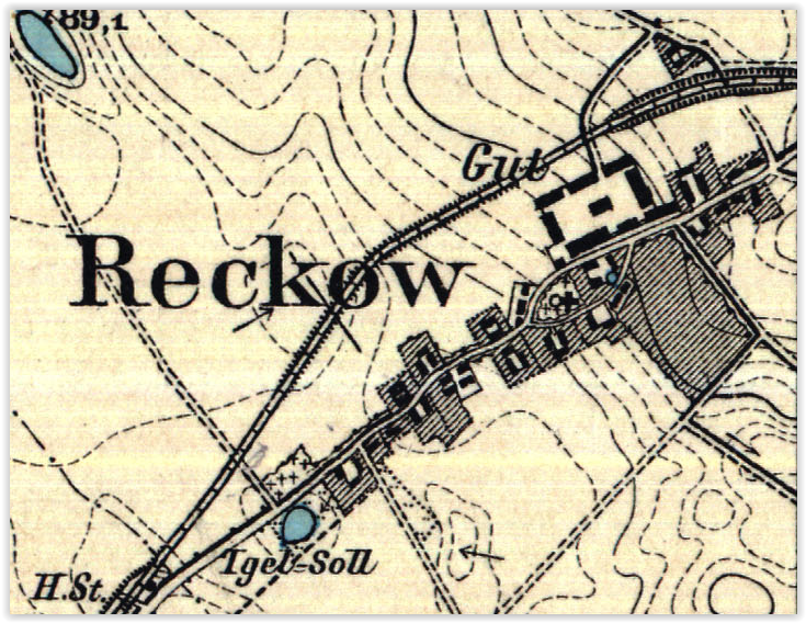 Rekowo 1929, zachodniopomorskie