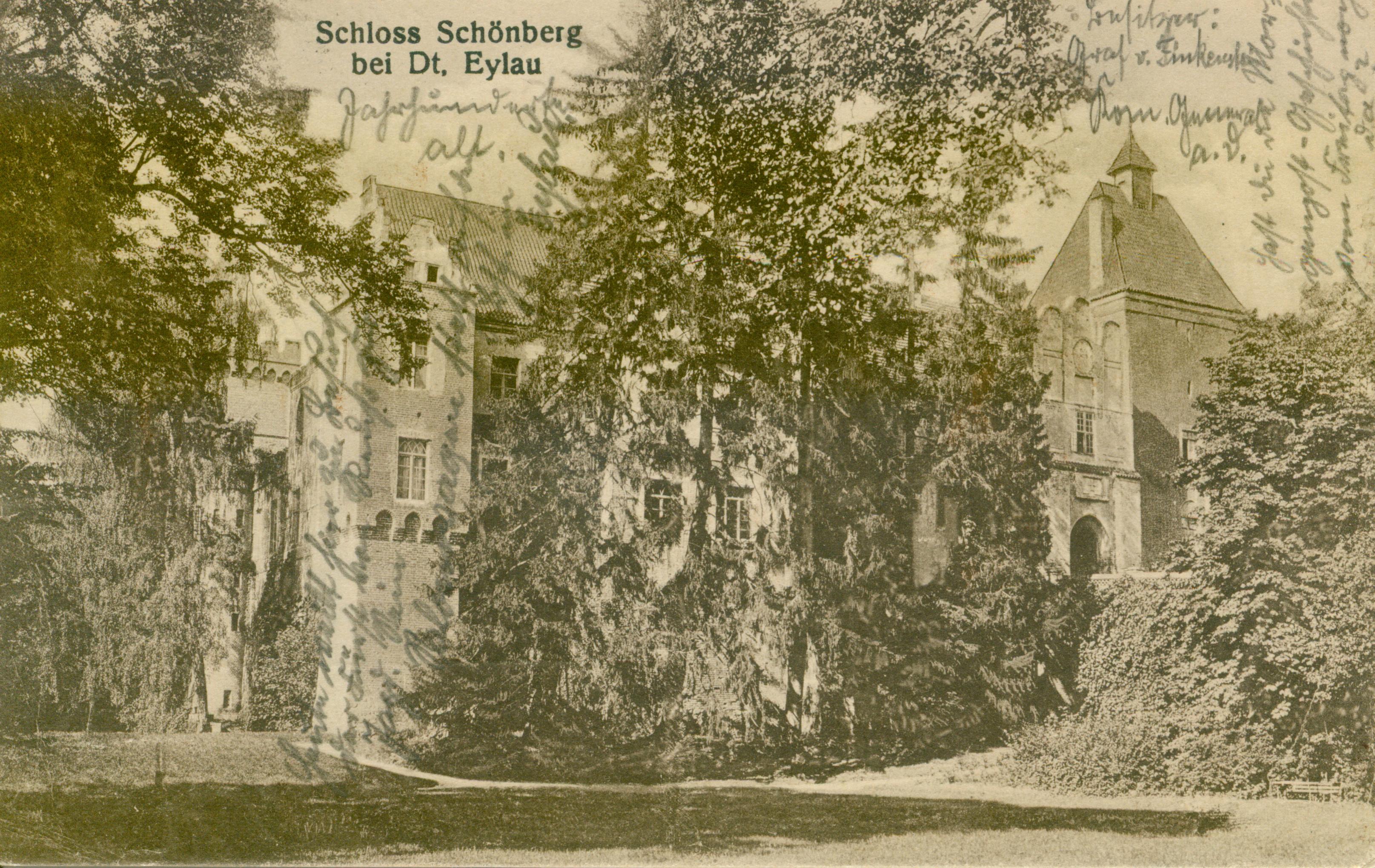 Szymbark zamek warmińsko-mazurskie