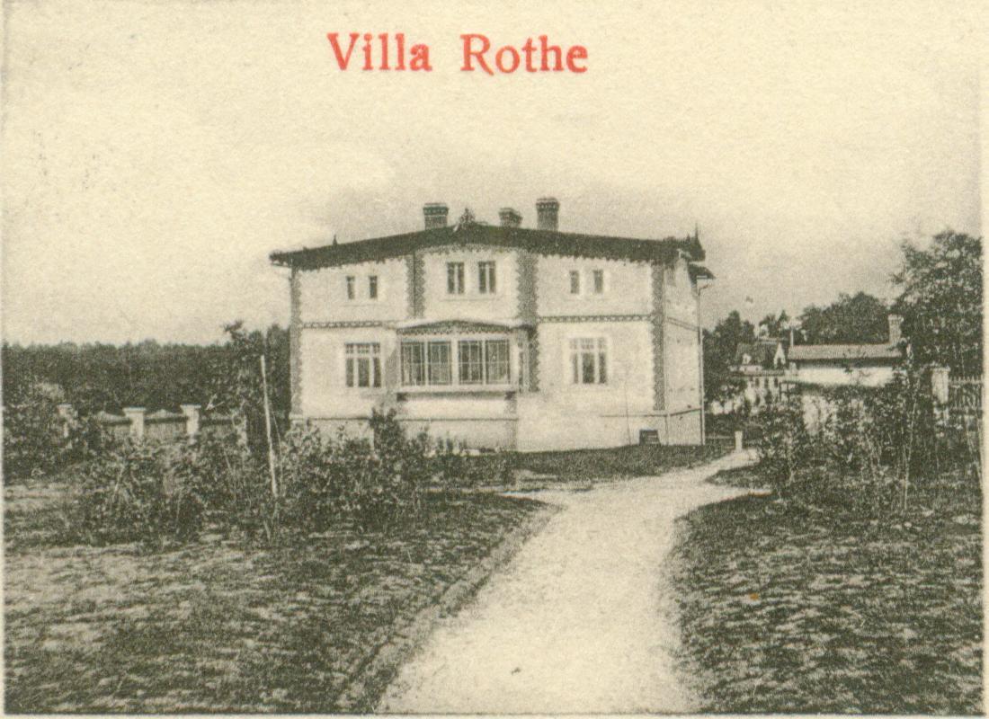 Trzebów-willa Rothe