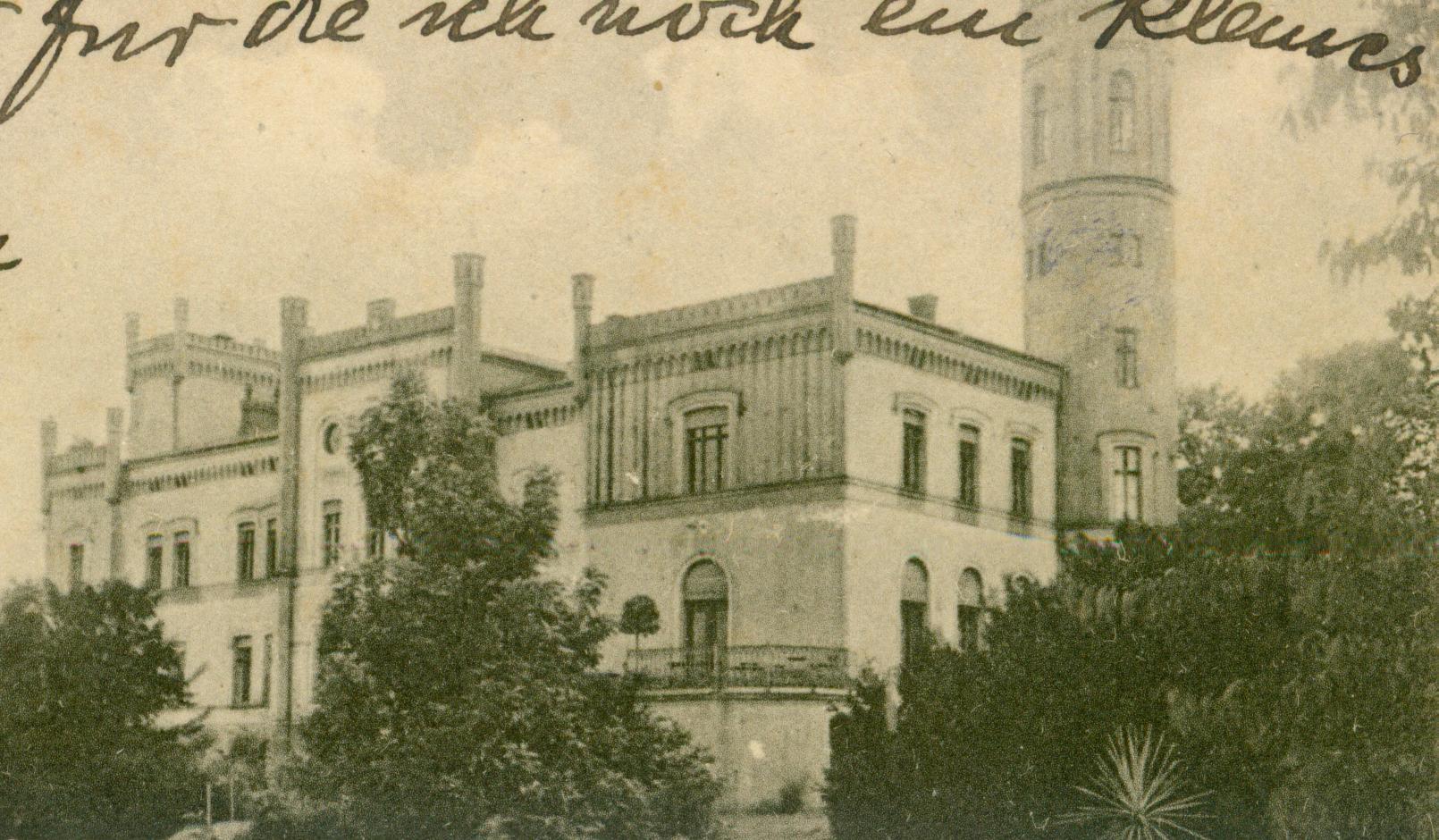 Bezrzecze-pałac
