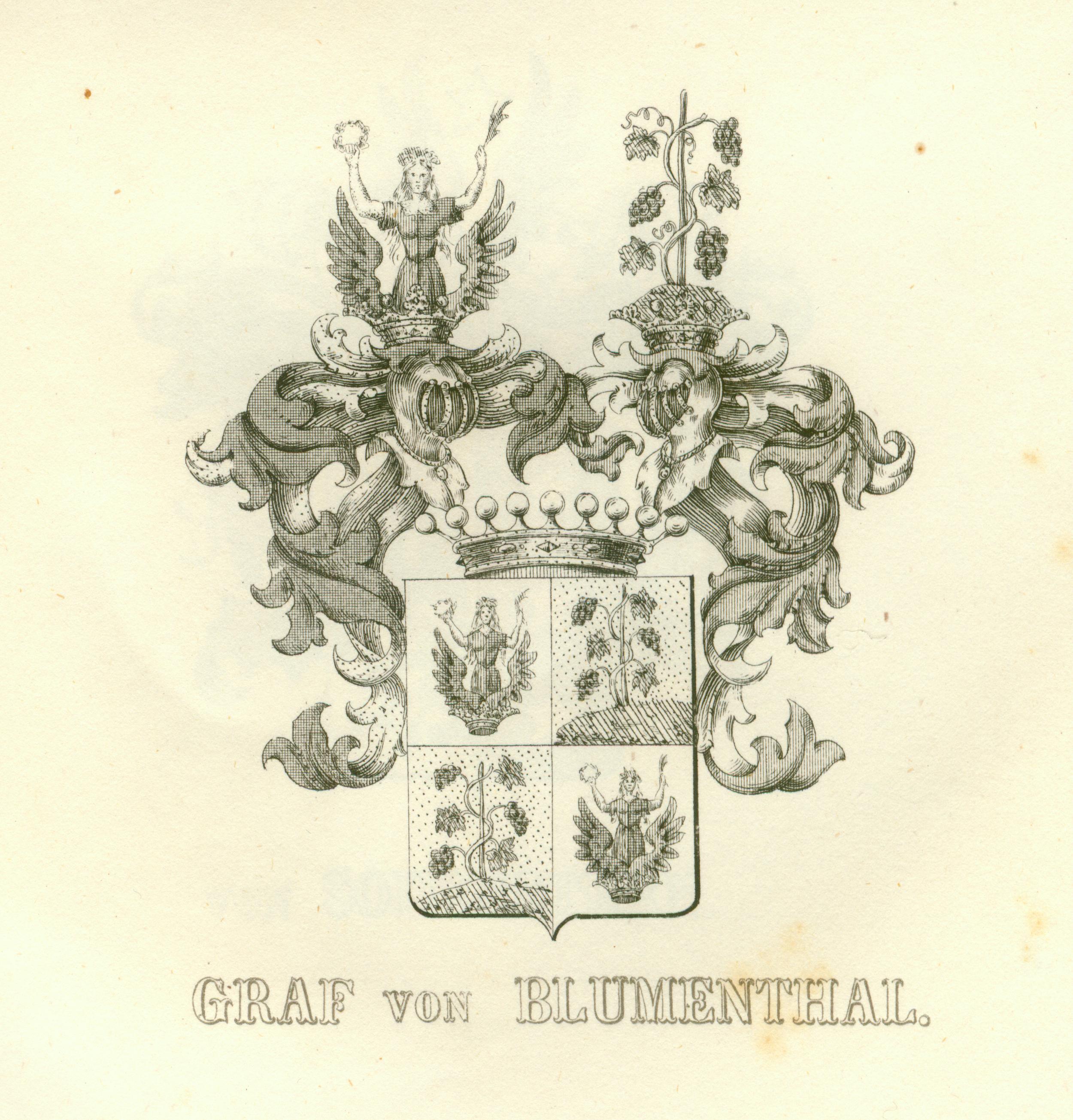 Blumenthal hrabia