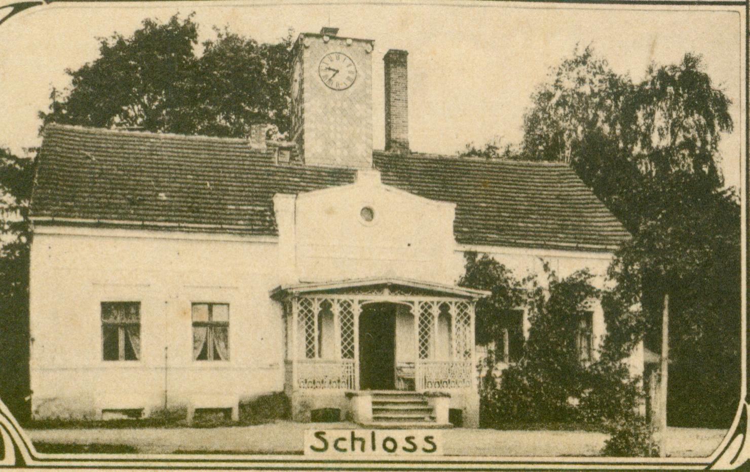 Raszawa Mała-pałac