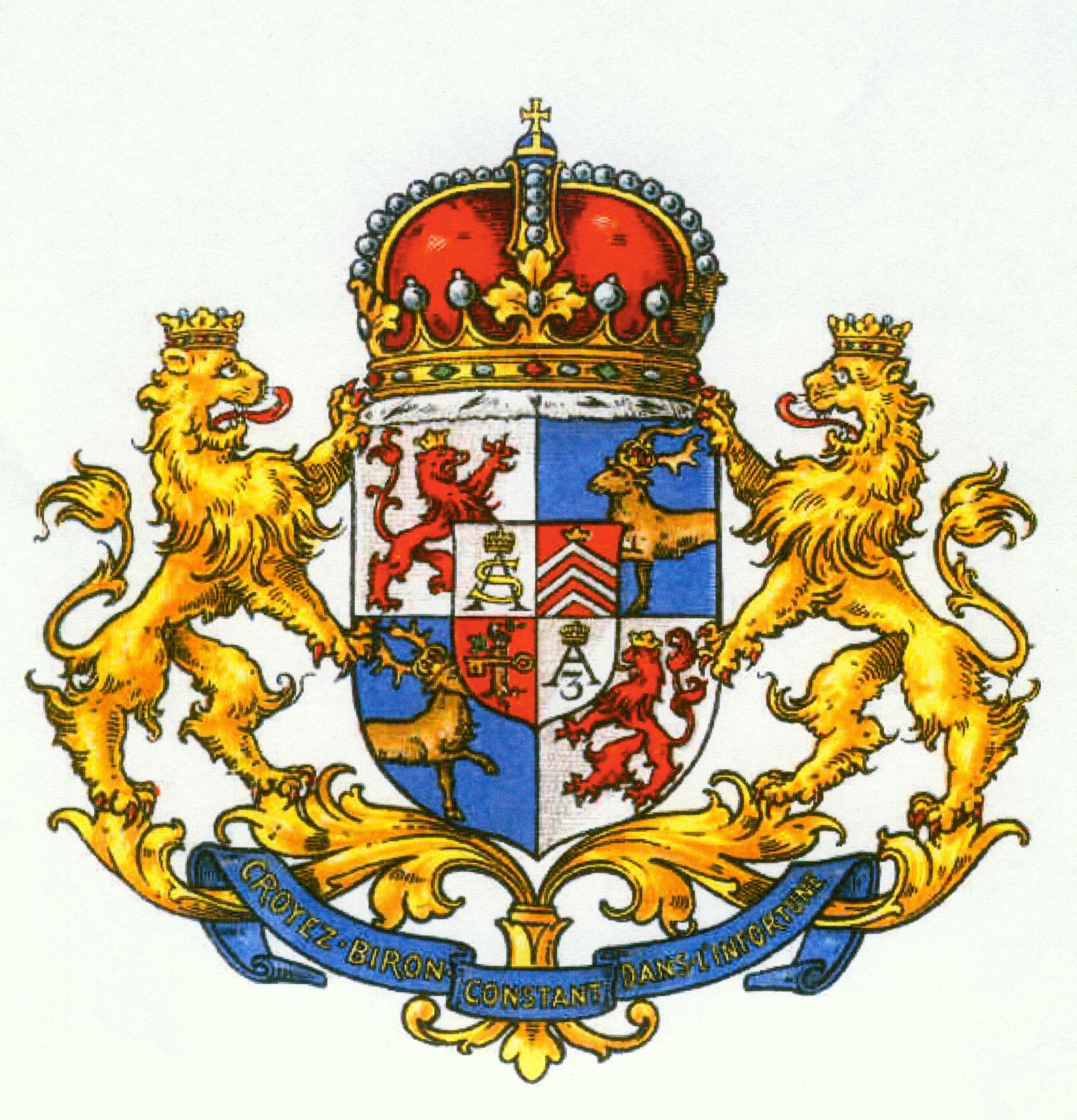 Biron herb książęcy (2)