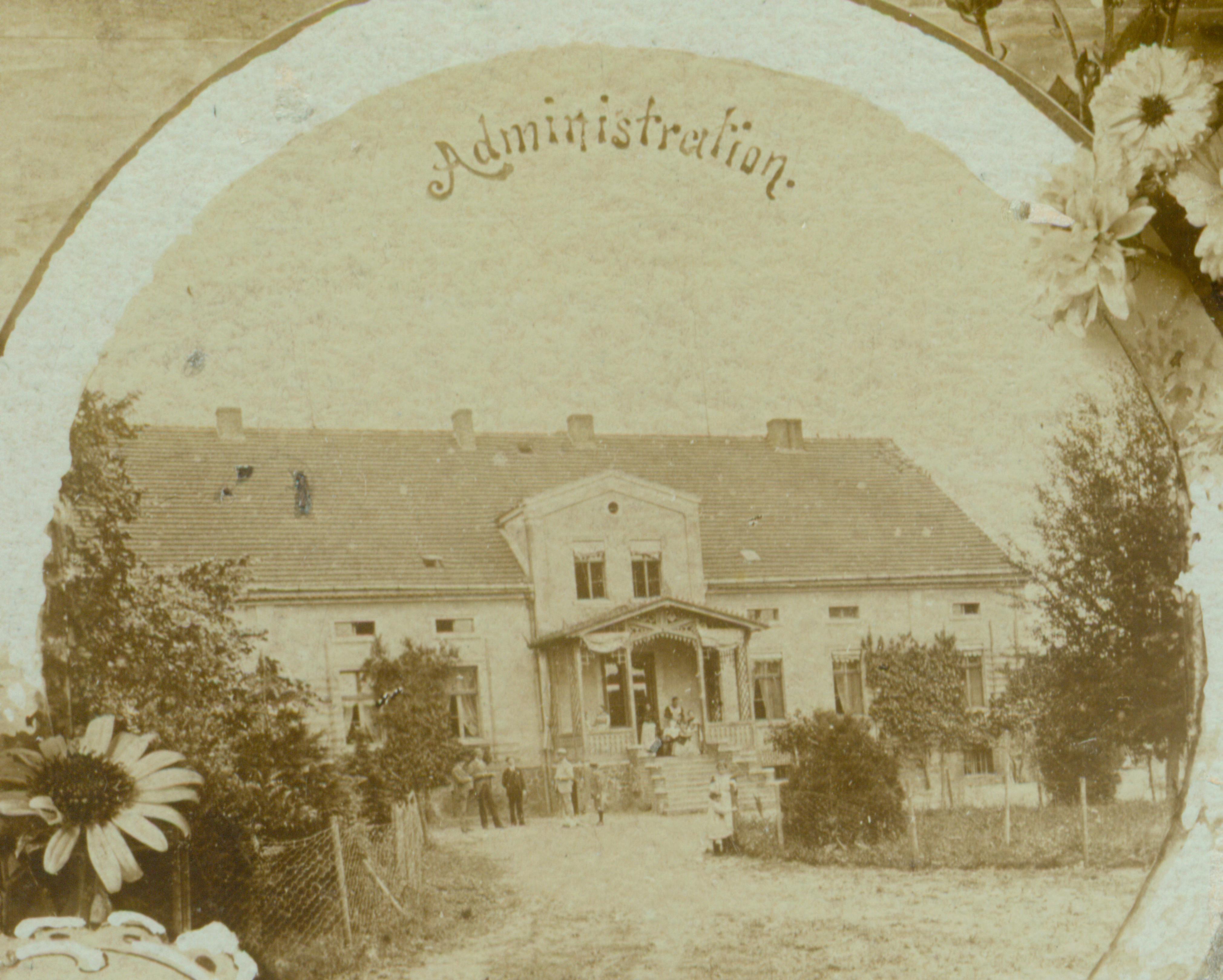 Leśniów Wielki-dom administratora