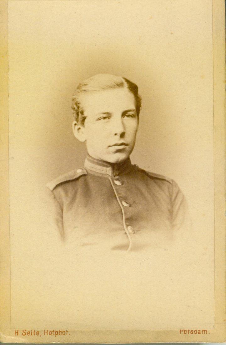 von Bonin-kadet ok.1860