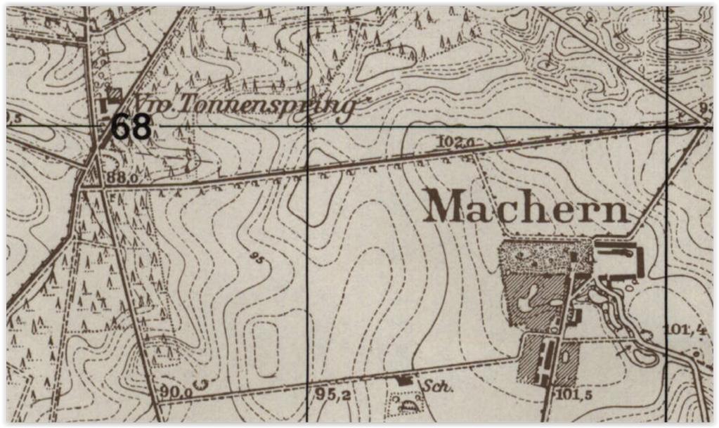 Śródlesie i Machary, lubuskie