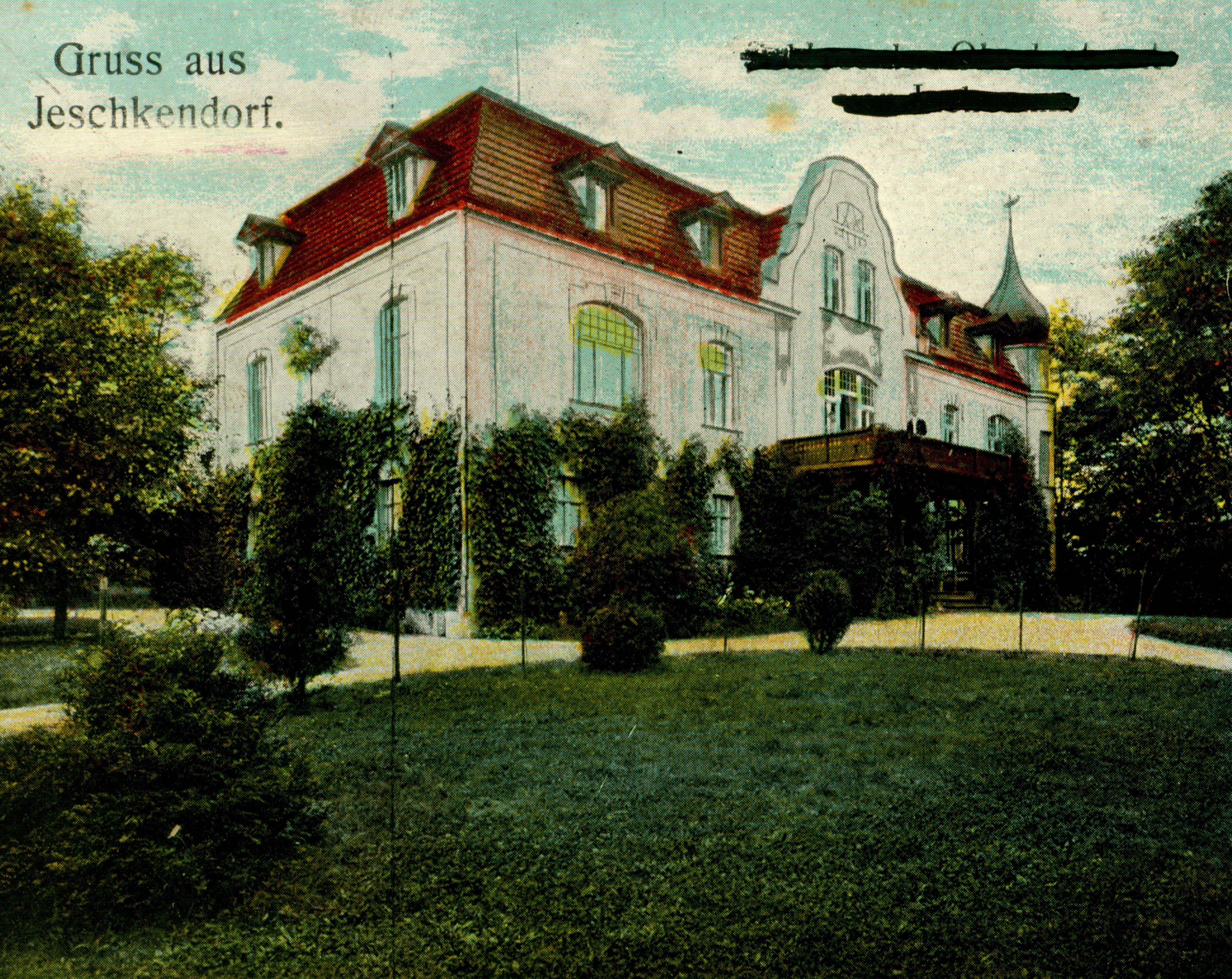 Jaszkowice-pałac