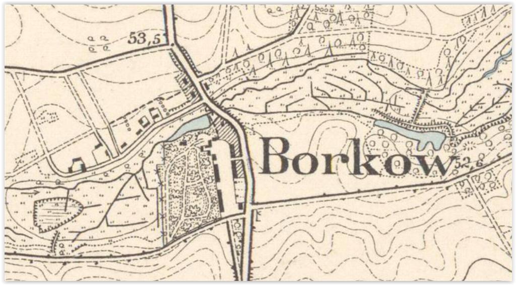 Borkowo 1891, zachodniopomorskie