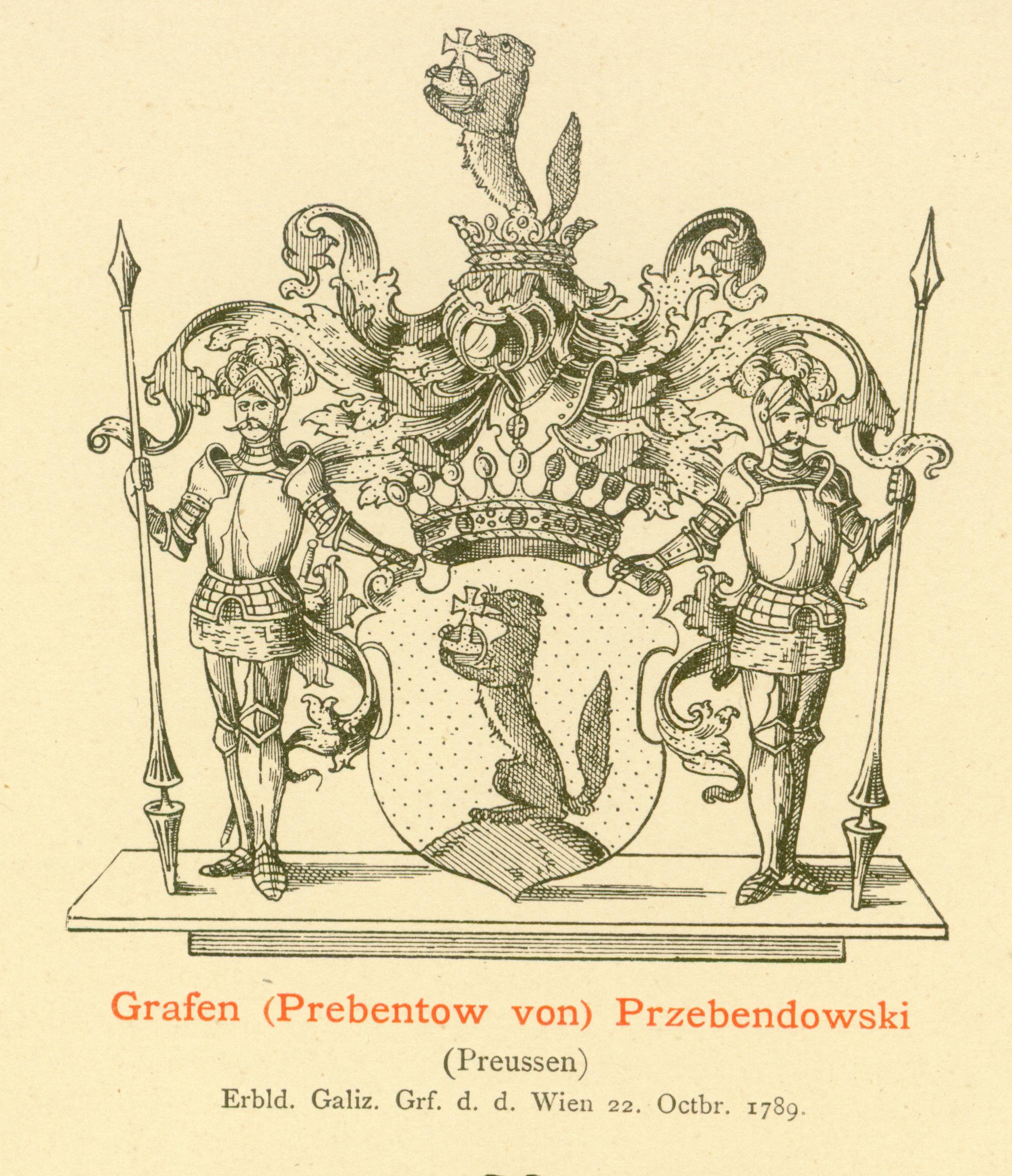 Przebendowski Prebentow von