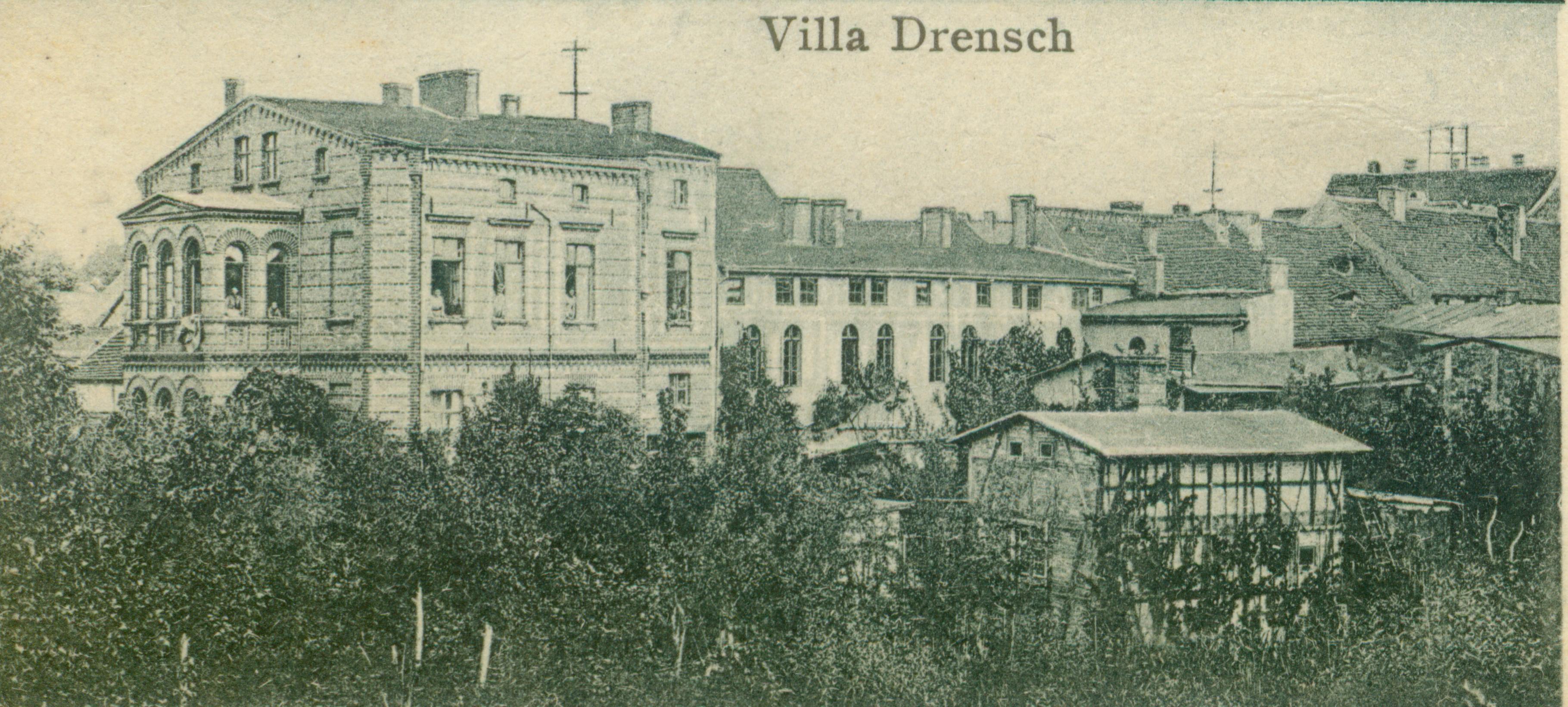 Pełczyce willa Drensch