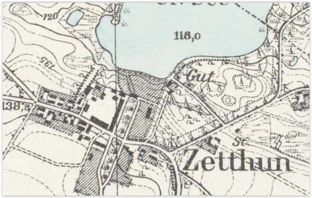 Cetuń 1932, zachodniopomorskie