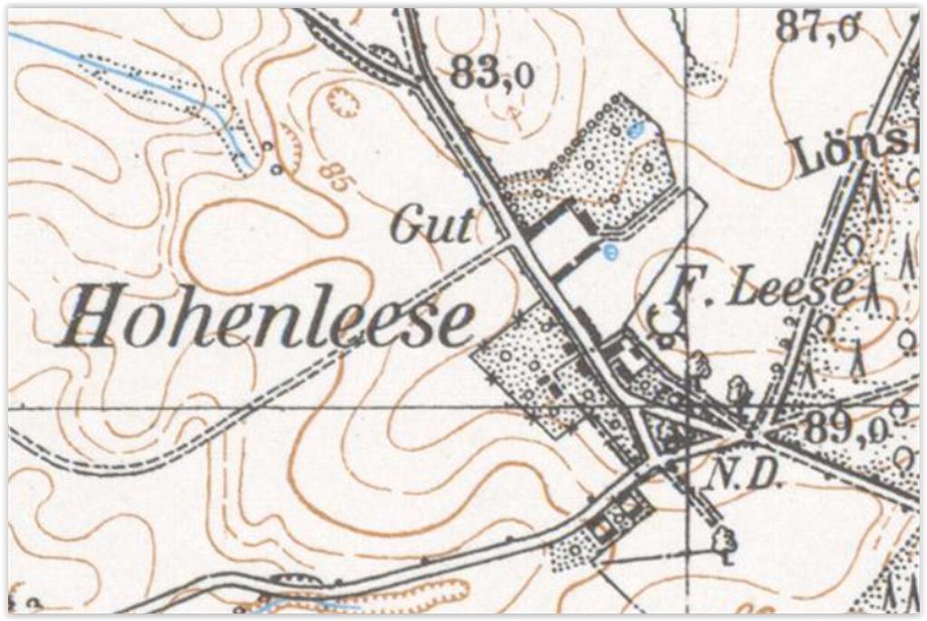 Leśno Górne 1937, zachodniopomorskie
