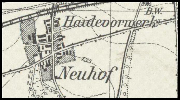 Nowy Dwór 1937, lubuskie
