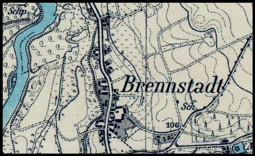 Pożarów 1924, lubuskie