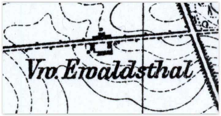 Ewaldsthal Vw. 1933, lubuskie